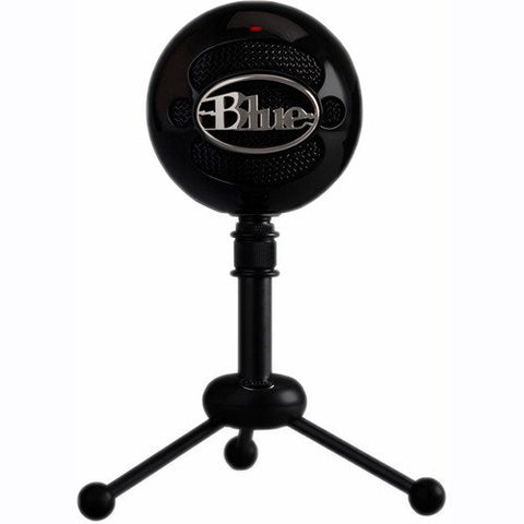 Blue Snowball Studio Portable USB Microphone with Recording Software and Gooseneck Pop Filter Bundle