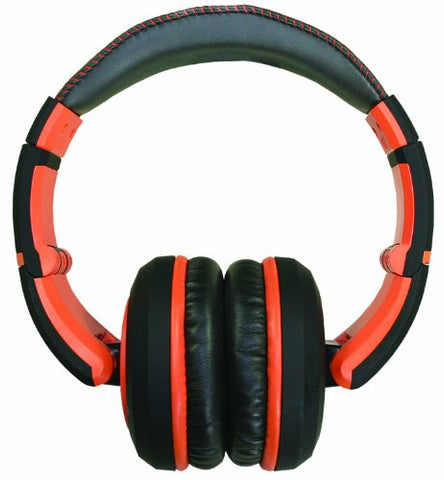 CAD The Sessions Professional Closed-Back Studio Headphones by CAD Audio - Black with Orange (Refurb)