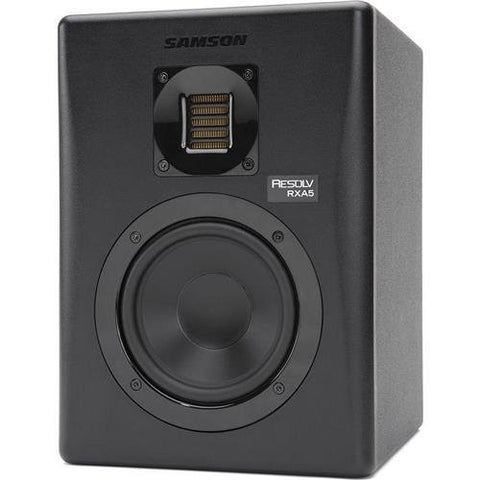 Samson Resolv RXA5 2-Way Active Studio Reference Monitor with Air Displacement Ribbon Tweeter -Refurbished
