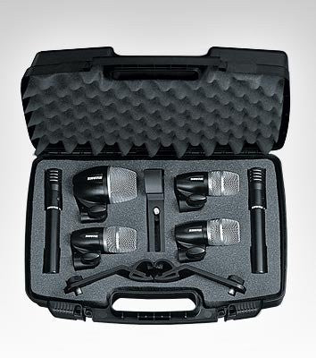 Shure PDGMK6-XLR Drum Microphone Kit with XLR to XLR Cables