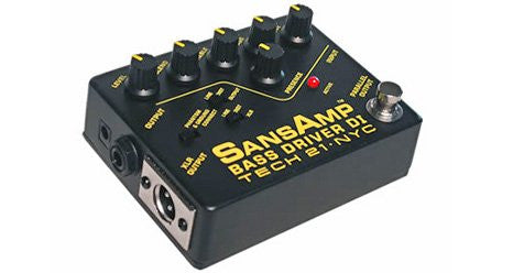 Tech 21 SansAmp Bass Driver DI - Pre-Amp & DI for Bass