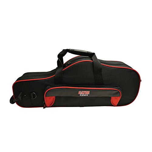 Gator GL-ALTOSAX-RK Spirit Series Lightweight Alto Sax Case, Red & Black