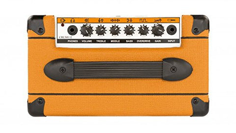 "Orange Crush 12 CRUSH12 Watt Guitar Amp Combo, 12 Watts Solid State w/ 6"" Speaker, orange"