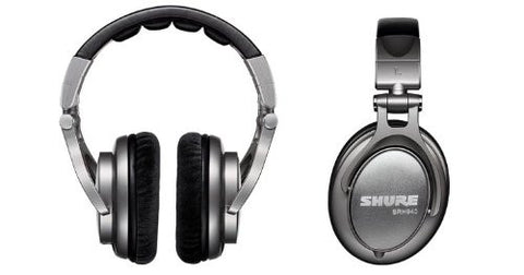 Shure SRH940 Professional Reference Monitoring Earphones (Black)