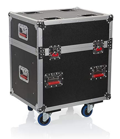Gator Cases Heavy-Duty ATA Style G-TOUR Case with Wheels to Hold Six (6) 24