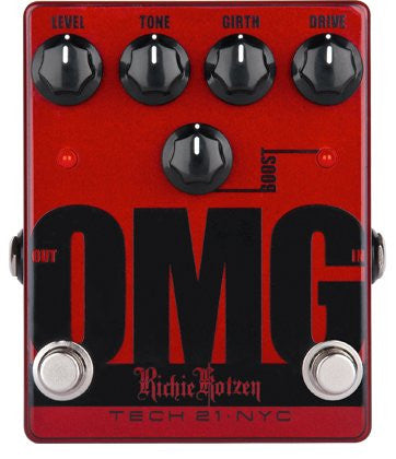 Tech 21 OMG Richie Kotzen Signature emulator pedal (Refurb)