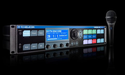 TC Helicon VoiceLive Rack with MP75 Mic(Refurb)