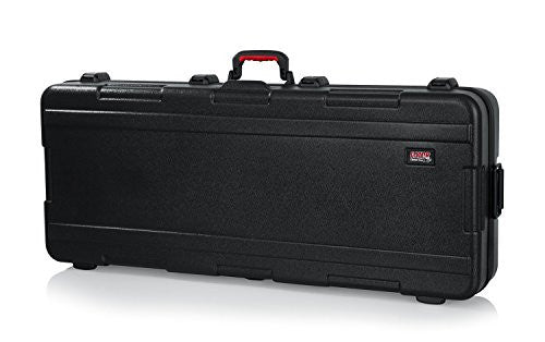 Gator Cases GTSA-KEY61 Molded 61-Note Keyboard Case with Wheels