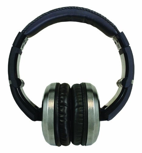 CAD Sessions MH510 Closed-Back Around-Ear Studio Headphones, Black & Chrome