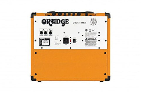 Orange Crush 35 CRUSH35RT Watt Guitar Amp Combo, with built in reverb and tuner 35 Watts Solid State W/ 10