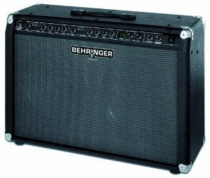 Behringer V-TONE GMX212 True Analog Modeling 2 x 60-Watt Stereo Guitar Amplifier with 2 Independent Channels, each Featuring 27 Modeled Sounds, FX Processor, Tuner and MIDI Control
