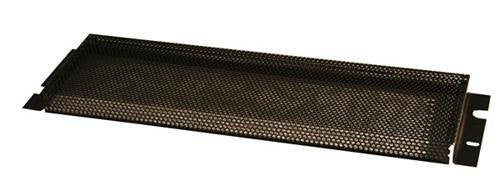 "Gator GRW-PNLSEC4 Gator Rackworks Security Cover; Non-PVC Rubber Edging; 5/32"" Holes; 1"" Space Between Panel & Gear; 4U"