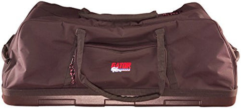 Gator GP-HDWE-1846-PE Drum Hardware Bag 18x46 w/ Wheels-Molded Bottom