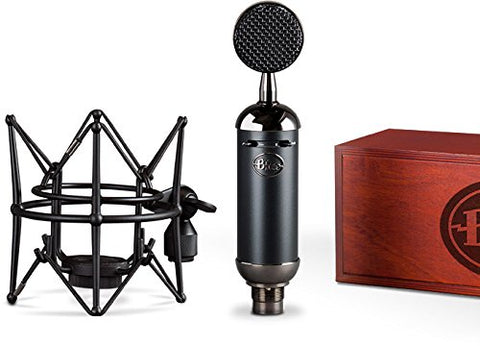 Blue Blackout Spark SL XLR Condenser Microphone with Studio Headphones & 20' XLR Cable Bundle