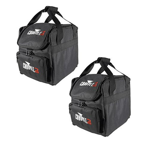 (2) CHAUVET CHS-25 VIP Gear DJ Equipment Bags for (4) SlimPAR 64 or RGBA Lights