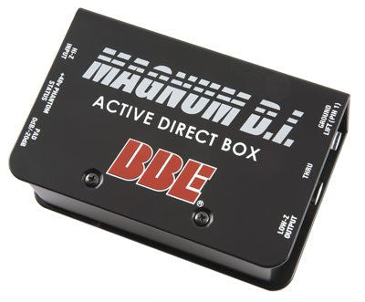 BBE Magnum DI Active Direct Box Powerable by +48v Phantom Power