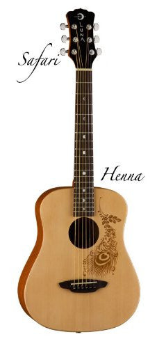 Luna Safari Henna Travel Gtr w/ gigbag (Refurb)