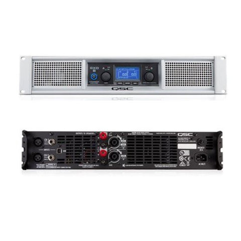 QSC GXD4 Light weight, class-D professional power amplifier with DSP 400 watts/ch