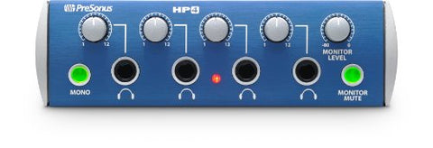 PreSonus HP4 4-Channel Headphone Distribution Amplifier (Refurb)