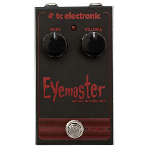 TC Electronic Electric Guitar Single Effect (EYEMASTER Metal DISTORTION)
