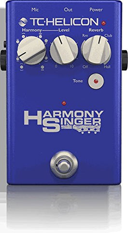 TC-Helicon Harmony Singer 2 Vocal Processor and Harmony Generator Floor Pedal (Refurb)