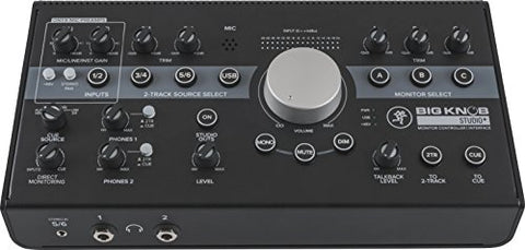 Mackie BIG KNOB STUDIO PLUS Monitor Controller and Interface with Software (Refurb)
