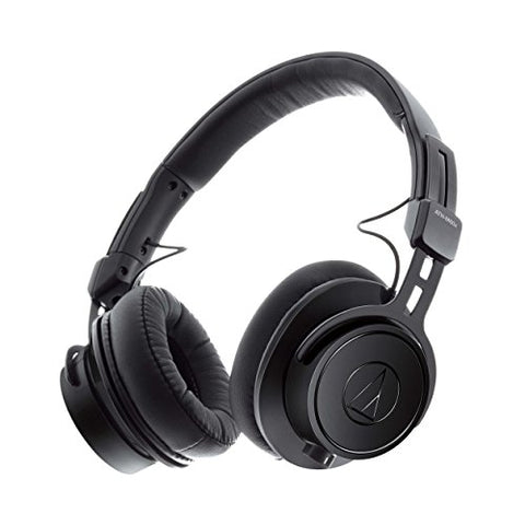 Audio-Technica ATH-M60X On-Ear Closed-Back Dynamic Professional Studio Monitor Headphones (Refurb)