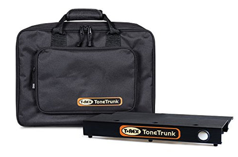 T-Rex TT-BAG-45 Tone Trunk Carry Bag 45 with Two Tiered Aluminum Pedal Board