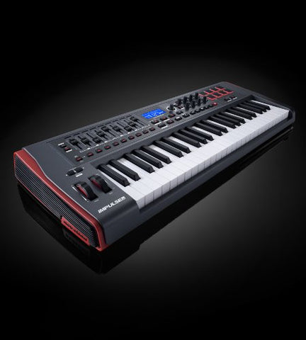 Novation Impulse 49 USB Midi Controller Keyboard 49 Keys