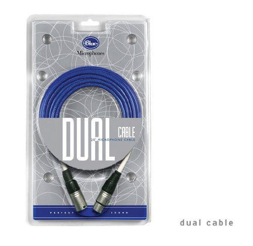 Blue Microphones Dual 20 Foot Microphone Cable