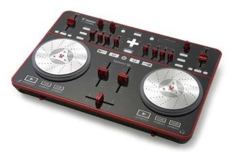 Vestax Typhoon USB MIDI DJ Controller with Virtual DJ