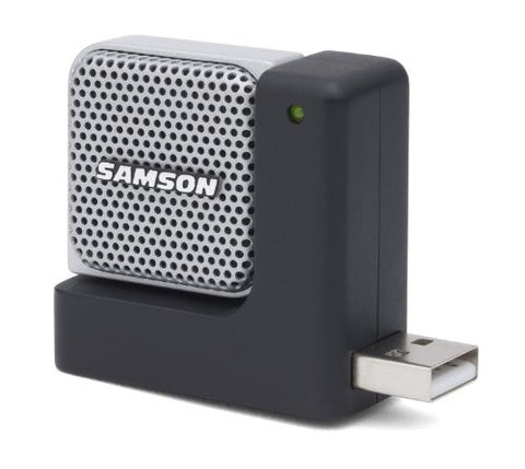 Samson Go Mic Direct - Portable USB Microphone with Noise Cancellation Technology, Cardioid- Refurb