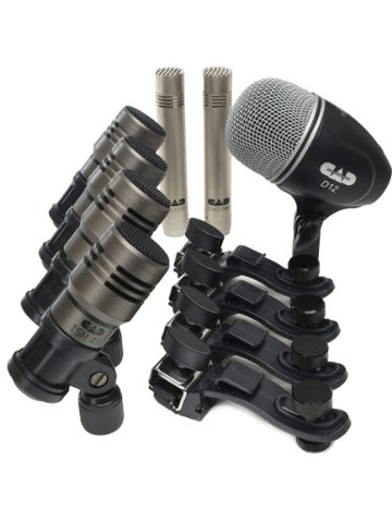 CAD Audio TOURING7 Premium 7-piece Drum Microphone Pack (Refurb)