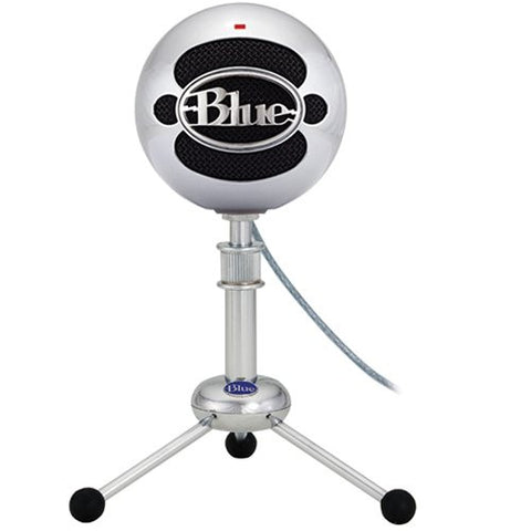 Blue Microphones Snowball USB Microphone - Brushed Aluminum (Refurb)
