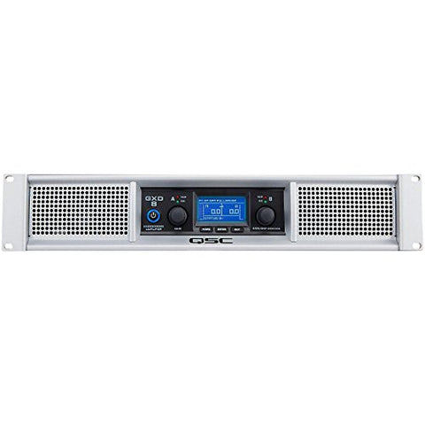 QSC GXD 8 Professional Amp 4500W Power Amplifier with DSP