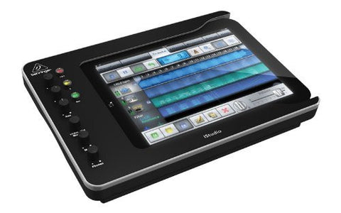 Behringer iSTUDIO iS202 Professional iPAD Docking Station with Audio, Video and Midi Connectivity