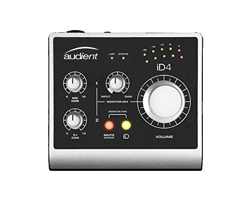 Audient iD4 USB Audio Interface plugins and software with ARC (Refurb)