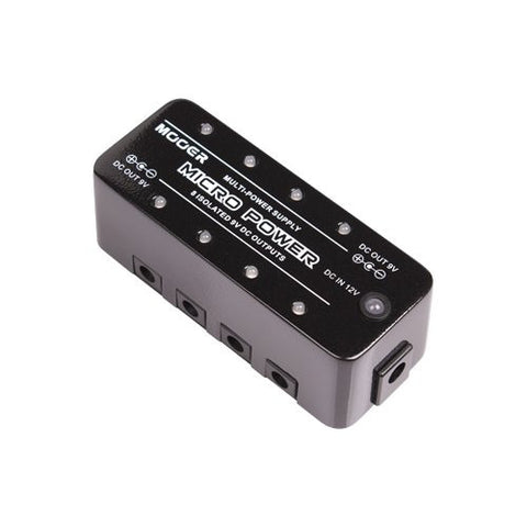 Mooer Micro Power Provide stable 9V DC power supply with high performance (Refurb)