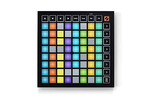 Novation Launchpad Mini MK3 64 RGB Pad Grid Controller for Ableton Live (Renewed)