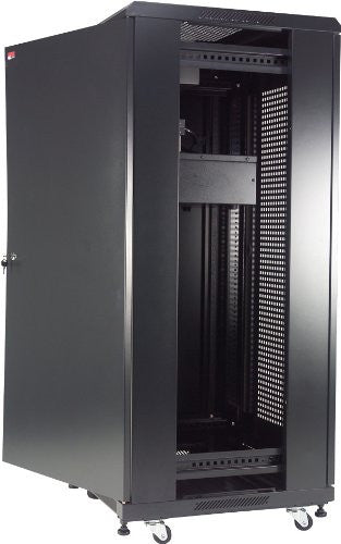 "Gator 22U, 23"" Deep Rack w/Glass Door"