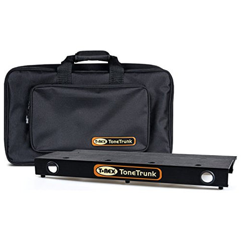 T-Rex TT-BAG-56 Tone Trunk Carry Bag 56 with Two Tiered Aluminum Pedal Board