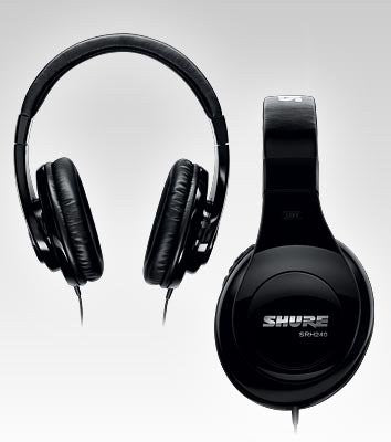 Shure SRH240A Professional Quality Headphones (black) (Refurb)