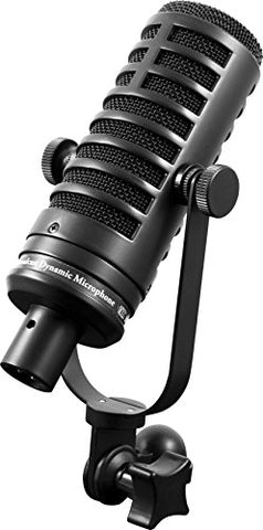 MXL BCD-1 Dynamic Podcast Microphone, Black (MXLBCD1)