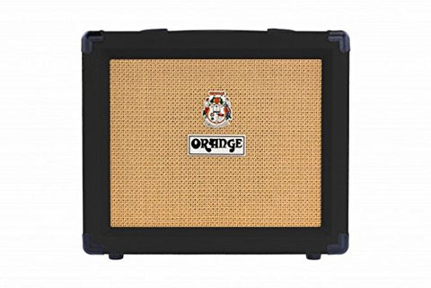 "Orange Crush 20 CRUSH20 Watt Guitar Amp Combo, 20 Watts Solid State w/ 8"" Speaker, black"