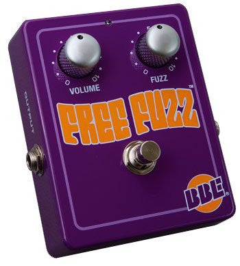 BBE FREE FUZZ 70's Fuzz Face Pedal