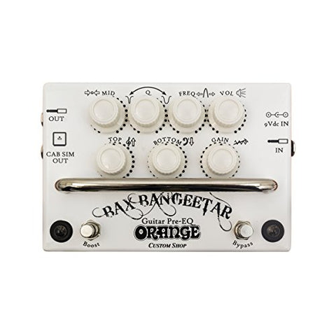 Orange Bax Bangeetar Guitar Pre-EQ - White