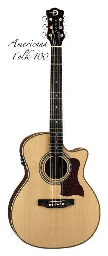 Luna Americana Folk Cutaway with B-band, AMF 100
