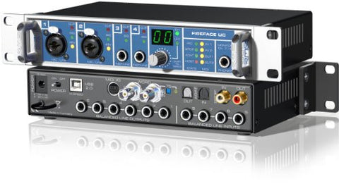 RME Fireface UC Hi-Performance USB 2.0 High Speed Audio Interface, 24 Bit/192 KHz, 36-Channel