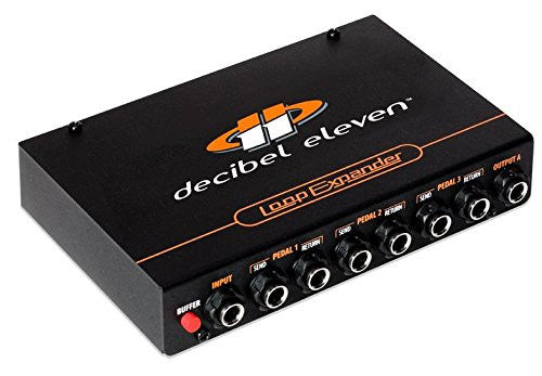 Decibel Eleven Loop Expander Adds Programmable Guitar Effects Switching to Any MIDI Controlled Setup