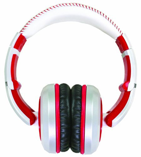 CAD Sessions MH510 Closed-Back Around-Ear Studio Headphones, White & Red (Refurb)